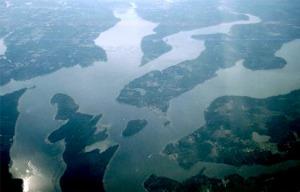 Inlets in Puget Sound