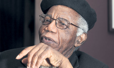 Chinua Achebe. Photograph: Eamonn McCabe/The Guardian
